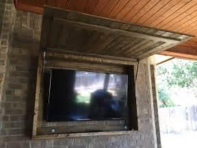 outdoor tv armoire outdoor tv cabinet pinteres