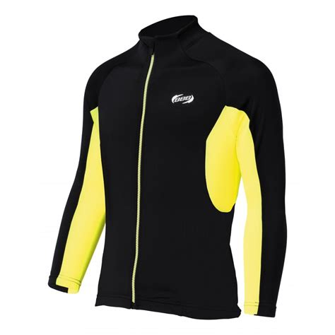 Jersey Fly Black Yellow Ls bbb 168 quadra ls jersey black yellow bbb from