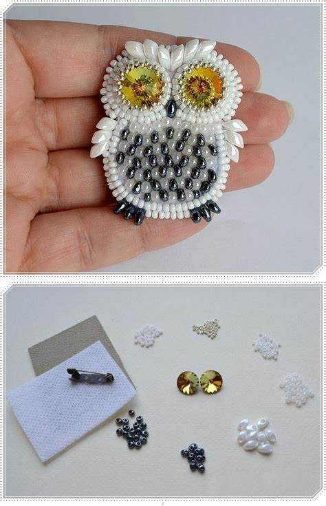 diy owl crafts the best crafts from snowy owl diy crafts brooches crafts and