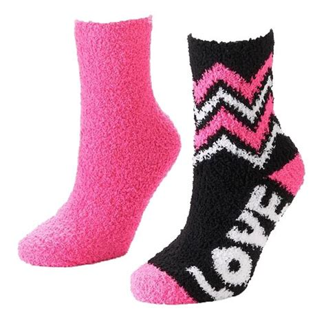 soft slipper socks so 2 pairs soft slipper crew socks ebay