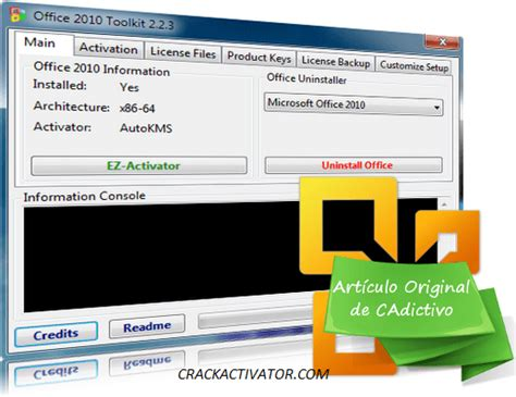 Office 2010 Activator by Office 2010 Toolkit And Ez Activator Version