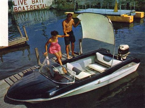 glastron electric boat 1960 glastron fireflite vintage boats to know and love