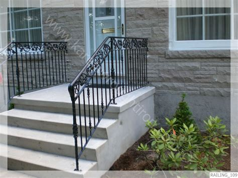 Wrought Iron Banister Rails by Wrought Iron Railing Railing 109 Jpg