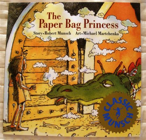 Paper Bag Process - h t the paper bag princess a modern take on the