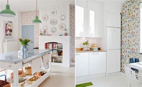 decorar cocina con papel pintado 191 miedo a pintar tu cocina atr 233 vete con el papel pintado