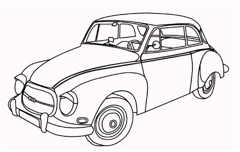 coloring pages of classic cars antique car and the unique design coloring pages for boys