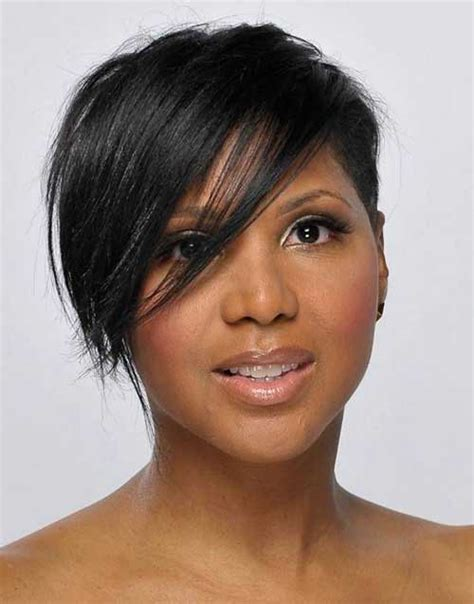 shortcuts for black hair women 15 new short hairstyles with bangs for black women short