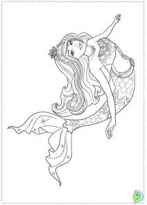 barbie mermaid coloring az coloring pages