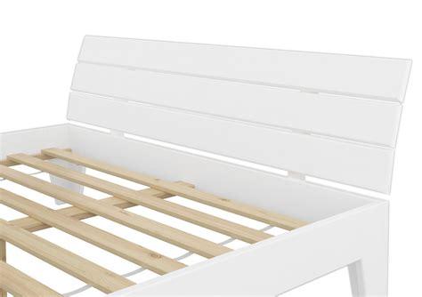 futon einzelbett futonbett 120x200 massivholz kiefer bettgestell einzelbett