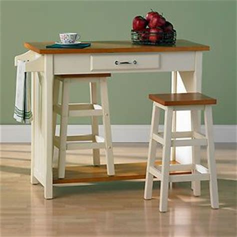 Ikea Kitchen Island Stools New Kitchen Island Wooden Butcher Block Cutting Board Table 2 Stools Bar Nook Butcher Blocks