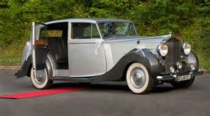 Antique Rolls Royce Classic Rolls Royce 1947 Silver Wraith Atlantic Limousine