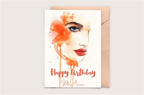 happy cards templates printable birthday card templates on creative market