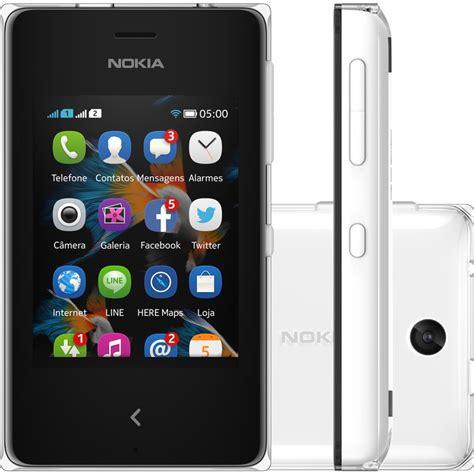 Imagenes Para Celular Nokia 500 | celular nokia asha 500 dual chip branco rm972nvbr novo