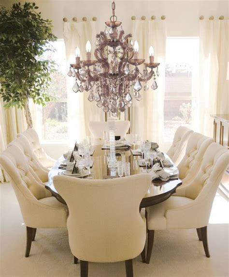 glamorous dining rooms glamorous fashion lighting traditional dining room chicago by northwest lighting and accents