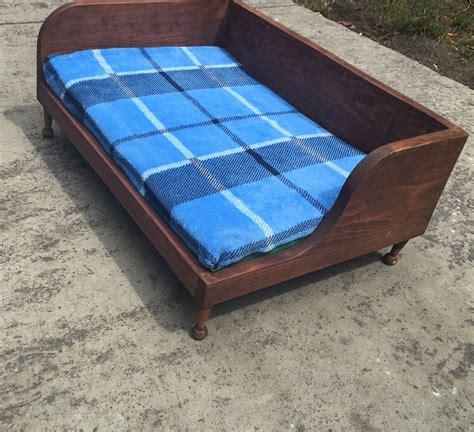 camas grandes para perros camas de madera para perros 1 050 00 en mercado libre