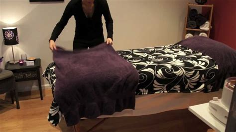 massage decorative covers how to make a comfortable therapy bed salon secrets