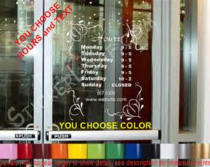 Shop Front Window Stickers Store Etsy