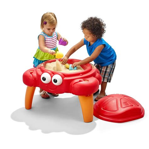 2 crabbie sand table best outdoor toys for toddlers and familyeducation