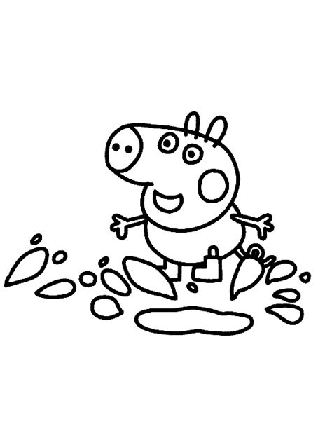 george pig coloring page george pig coloring pages for kids