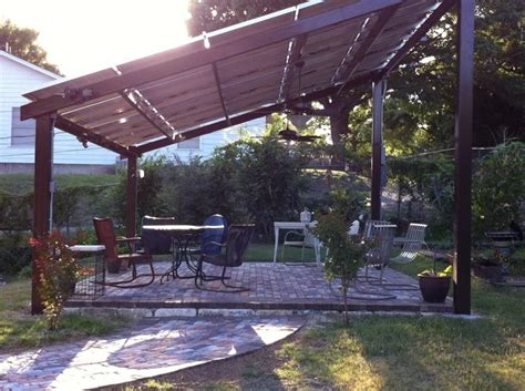 15 Best Images About Solar Panels On Pinterest Rammed Pergola Shade Panels
