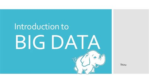 introduction to spring data ppt download big data ppt