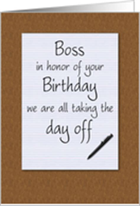 printable birthday cards for your boss funny birthday cards for boss from greeting card universe