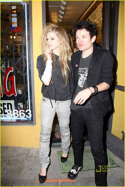 full sized photo of avril lavigne deryck whibley tattoo