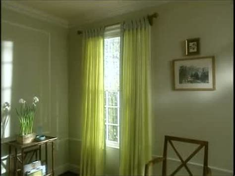 how to install tab top curtains martha stewart