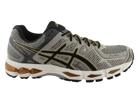 asics gel kayano 21 mens cushioned running shoes sneakers
