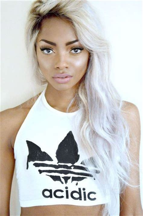 black womens hair to platinum blonde 187 best images about black girls blonde hair on