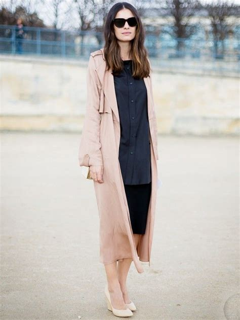 Daster Dress Midi Monocrome how to style a duster coat