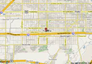 fontana california map map of hotels in fontana pictures to pin on