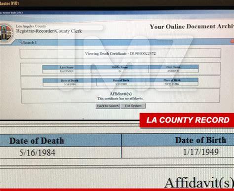 Kaufman County Divorce Records Andy Kaufman S Last Gf He S Dead Dead Dead Dead I