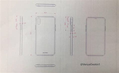 I Phone Sketches by Iphone 8 And Iphone 7s Plus Drawings Reveal Dual Cameras