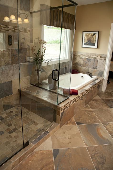 bathtub in floor 33 stunning pictures and ideas of natural stone bathroom