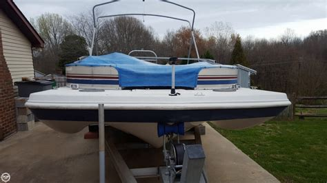 used hurricane deck boats in nc 2003 used hurricane 198re fun deck boat for sale 17 400