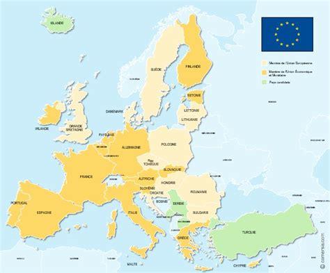 le si鑒e de l union europ馥nne carte union europ 233 enne 201 tats membres