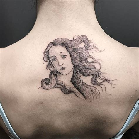 venus tattoo quot botticelli teaching birth of venus quot illustrative