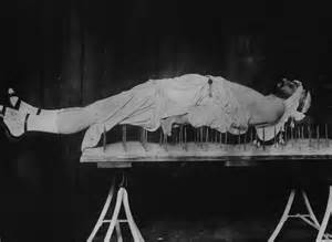 bed of nails lying on a bed of nails was once all the rage