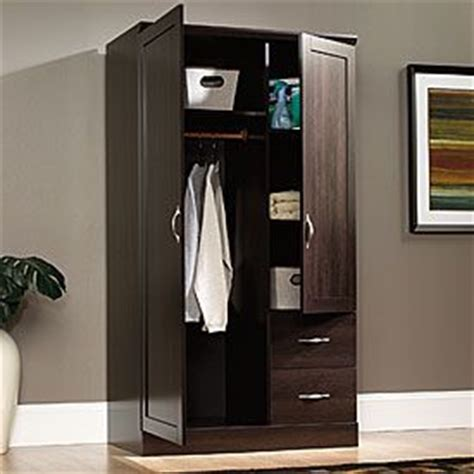 sauder 174 storage armoire from big lots home shelves