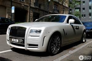 Rolls Royce Limited Rolls Royce Mansory White Ghost Limited 18 May 2013