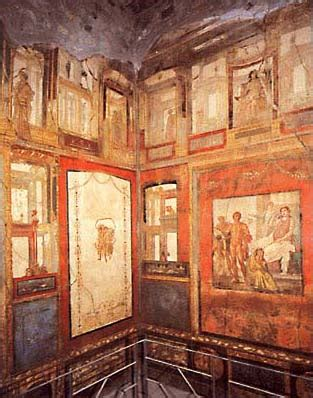 pompeii house of the vettii wall painting khan academy acta accla roman wall painting