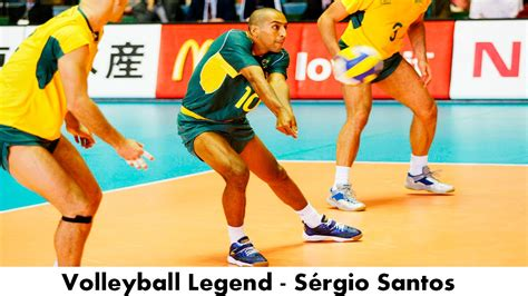 libero volleyball height legendary volleyball libero s 233 rgio santos youtube