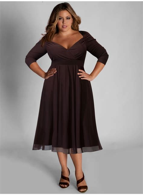 Brown Dress plus size brown dress and review clothing brand fashion