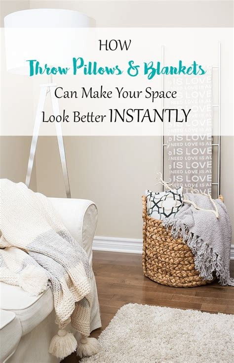 decorating 101 how throw pillows and blankets can make