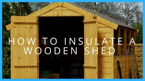 How To Insulate A Wooden Shed by How To Insulate A Shed Shed Garden Buildings Direct