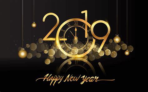 happy  year  clock fireworks hd wallpapers  wallpaperscom