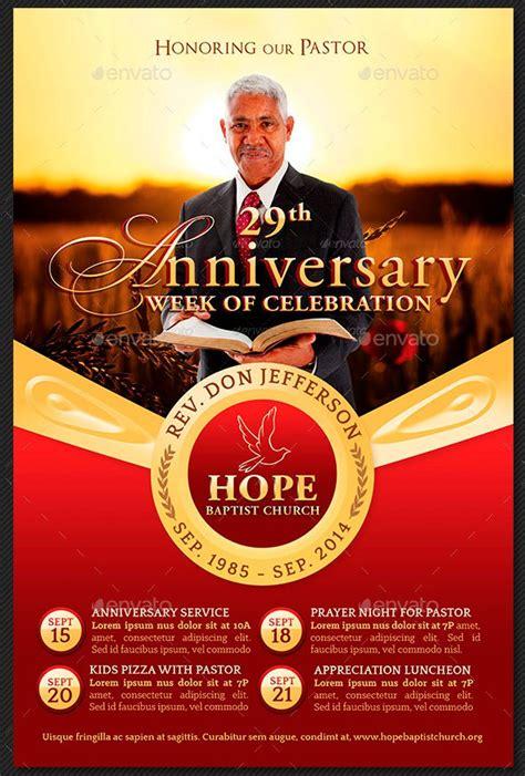 Pastor Appreciation Flyer Templates   Inspiks Market