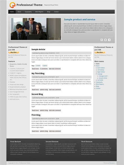 theme drupal photo best free drupal 7 themes internetdevels official blog