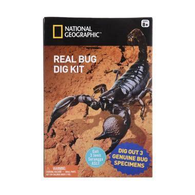 Mainan Fancy Kit Peralatan Kecantikan jual national geographic natgeo real bug dig kit mainan edukasi harga kualitas
